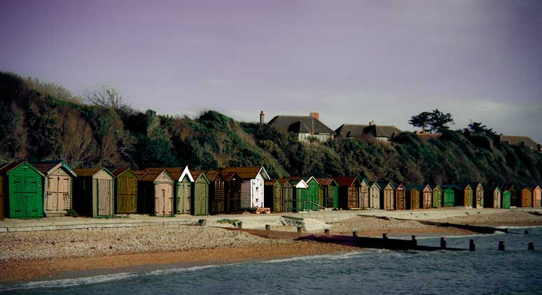 beach-huts-hill-head