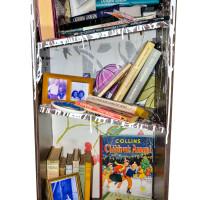 front view dementia bookcase